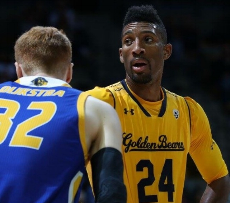 Marcus Lee had just 8 points in his debut as a Cal Bear. (photo courtesy of calbears.com)