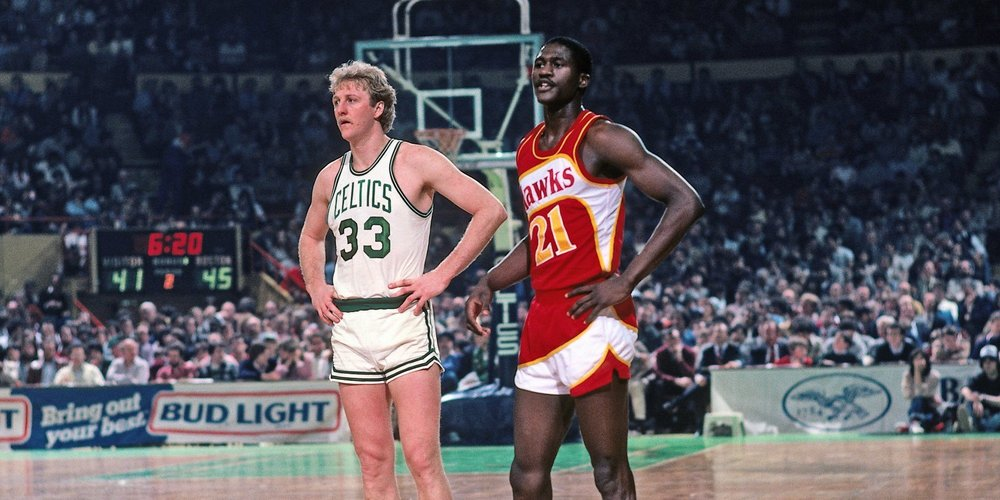 Larry Legend and the Human Highlight Film.