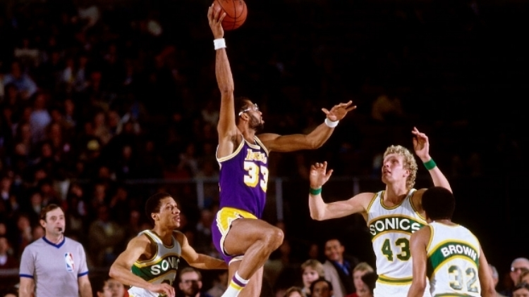 NBA all-time leading scorer Kareem Abdul-Jabbar