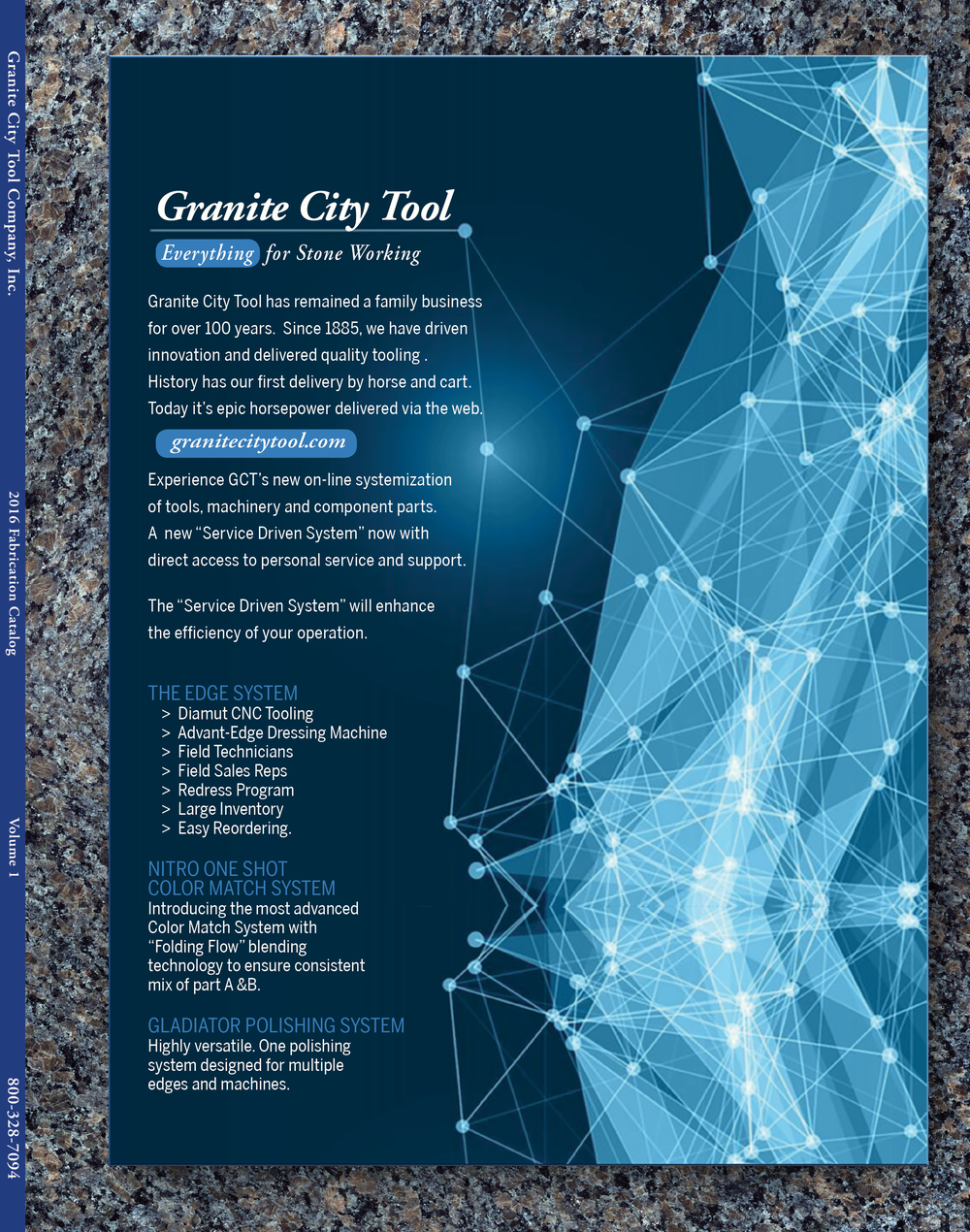 Granite City Tool Fabrication Catalog 2016