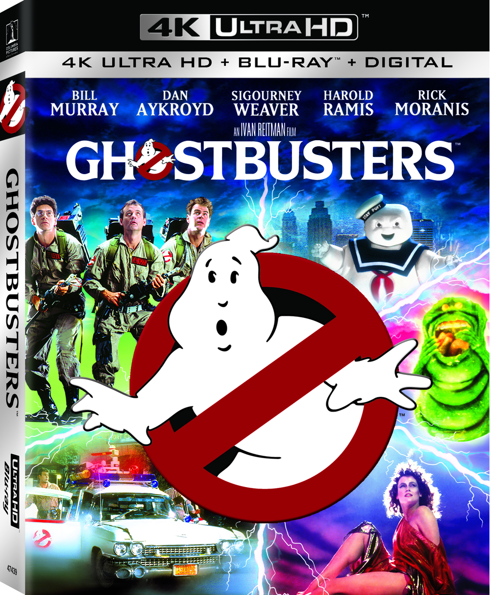 Original Ghostbusters Films Coming to UHD! But What Does
