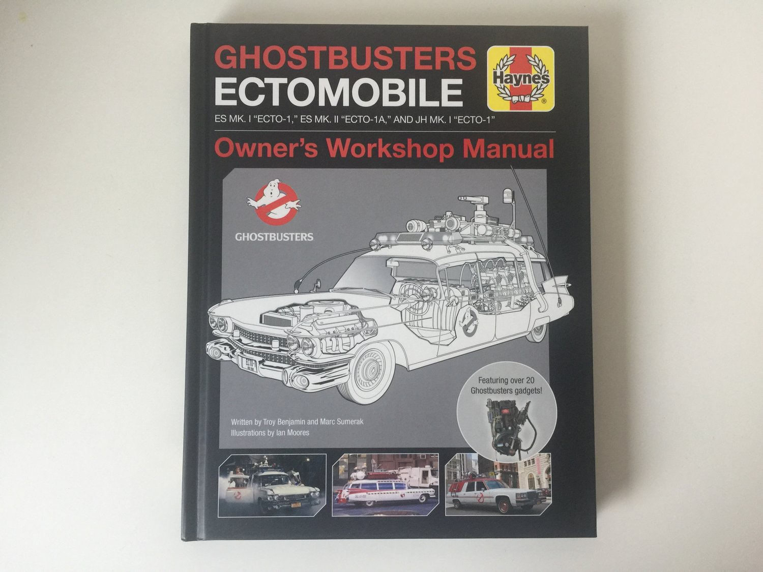 In Stores and Online Now: Ghostbusters Ectomobile Owner's Workshop Manual