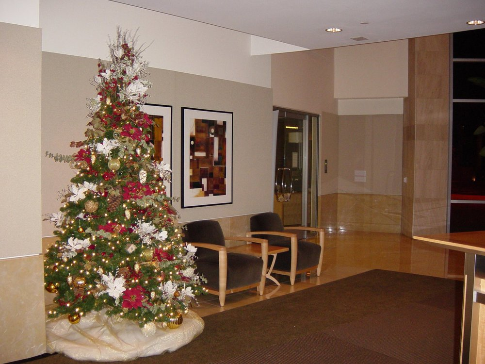 Christmas Tree in Lobby