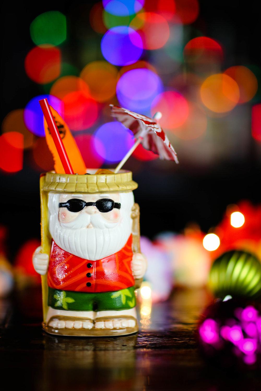 Sippin Santa