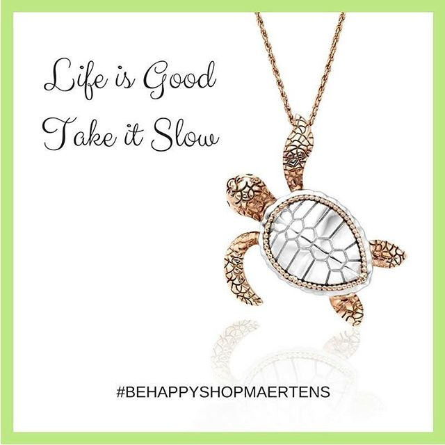 Happy Monday!  Fins crossed for beautiful weather as we reach the tail end of summer ☀️🤞🐢 #BeHappyShopMaertens #DesignerJewelry #TurtleJewelry
