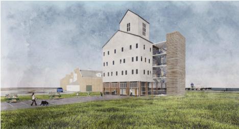 Image: The Kubala Washatko Architects for Hauser/Collins proposal