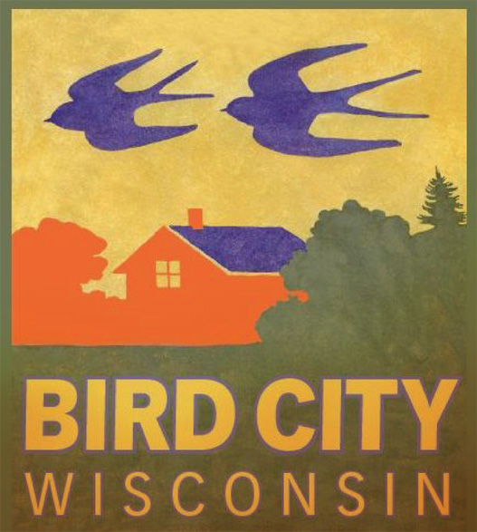 The Bird City logo, signs for a designated Bird City