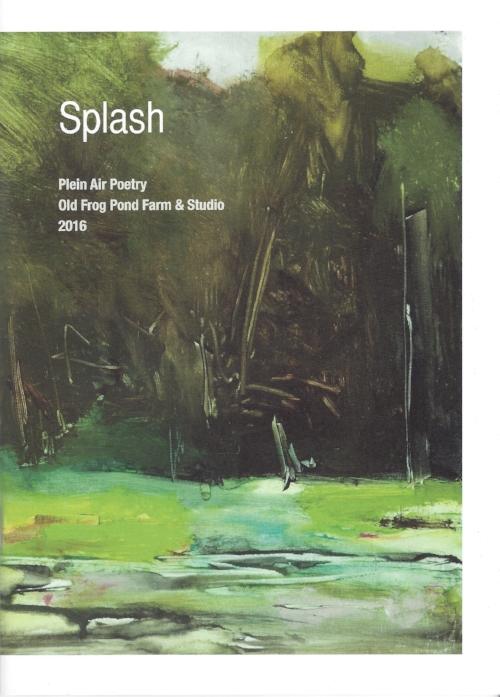 "Cover of ""Splash Plein Air Poetry"", Painting by Martha Wakefield"