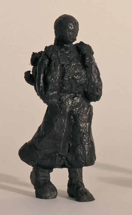 Woman Walking, Bronze Figure, LH