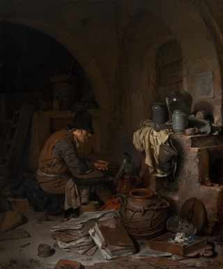 The Alchemist, Cornelis Bega