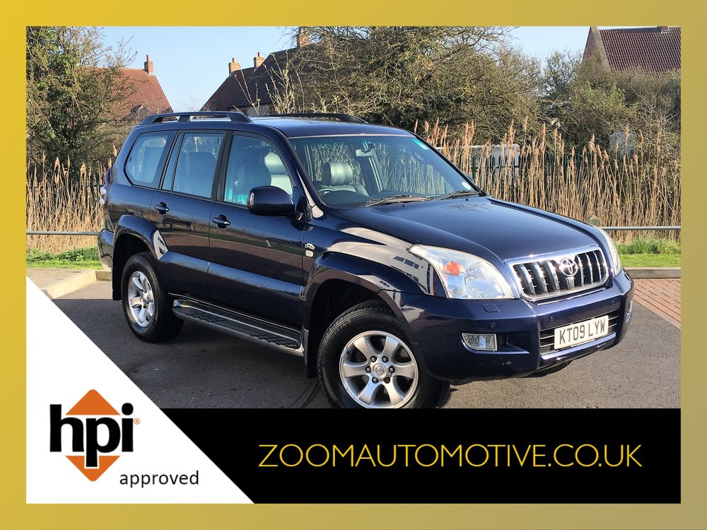 2009 TOYOTA LAND CRUISER LC4 3.0 D4D AUTOMATIC DIESEL 7 SEATER
