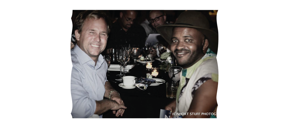 Pat O'Connell and Sal Masekela Night By The Ocean 2015