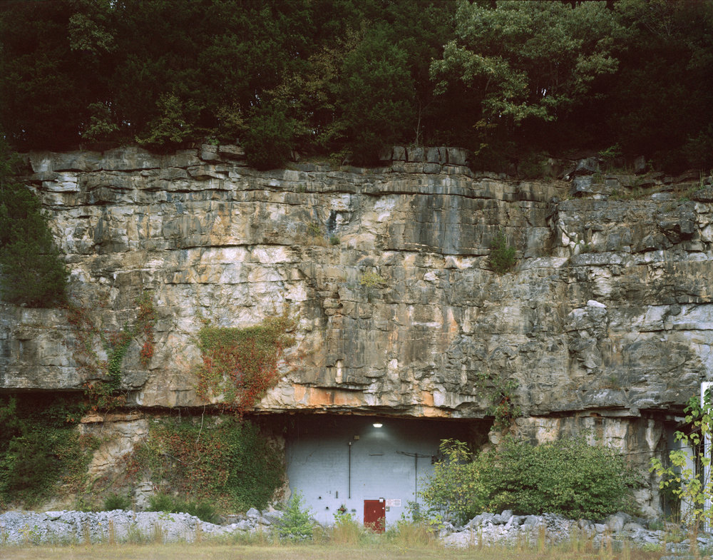 Meritex  Underground storage warehouse located in converted coal mine. Cumberland Furnace, Tennessee.