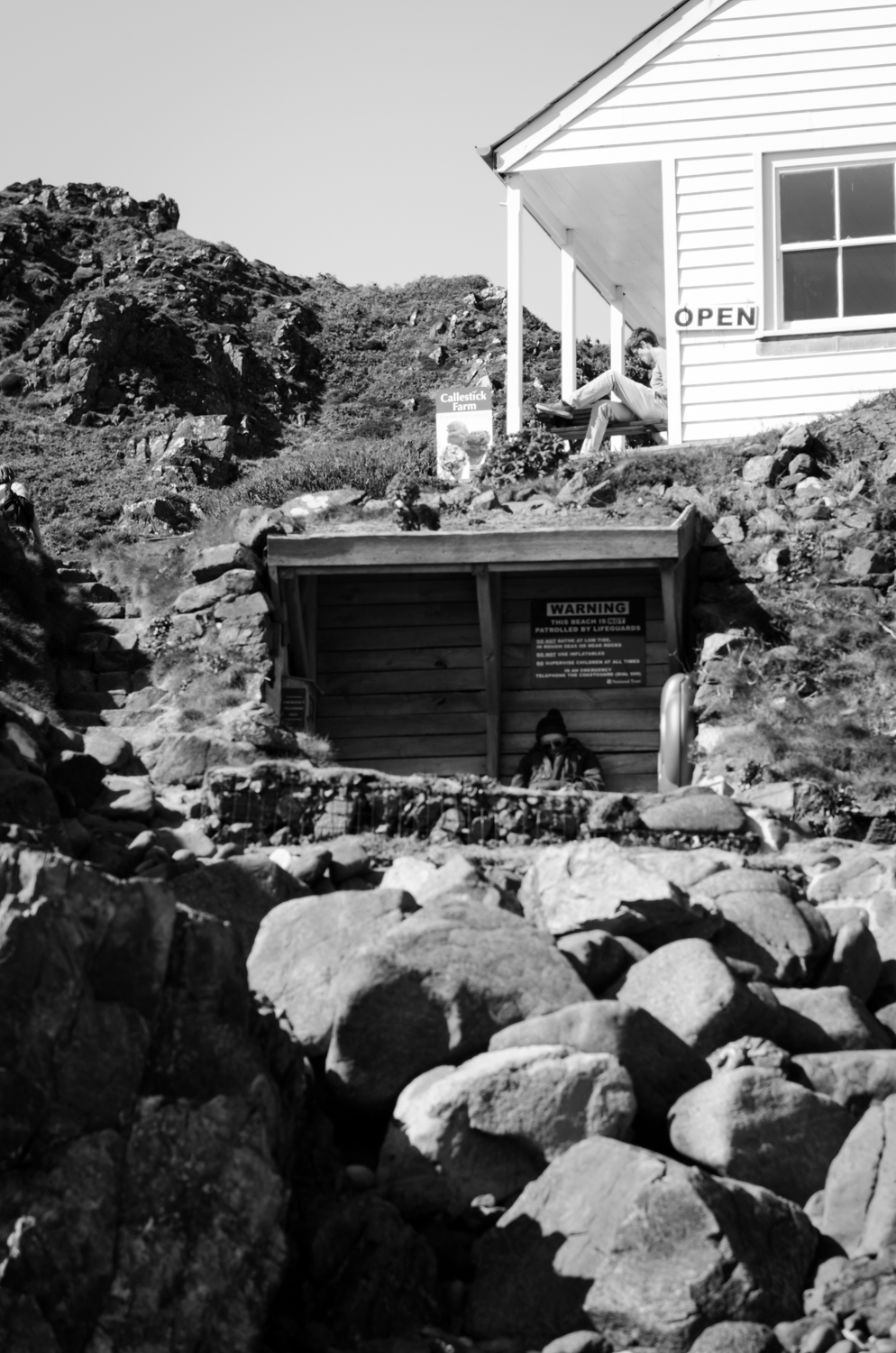 Kynance cove cafe the sleeping man