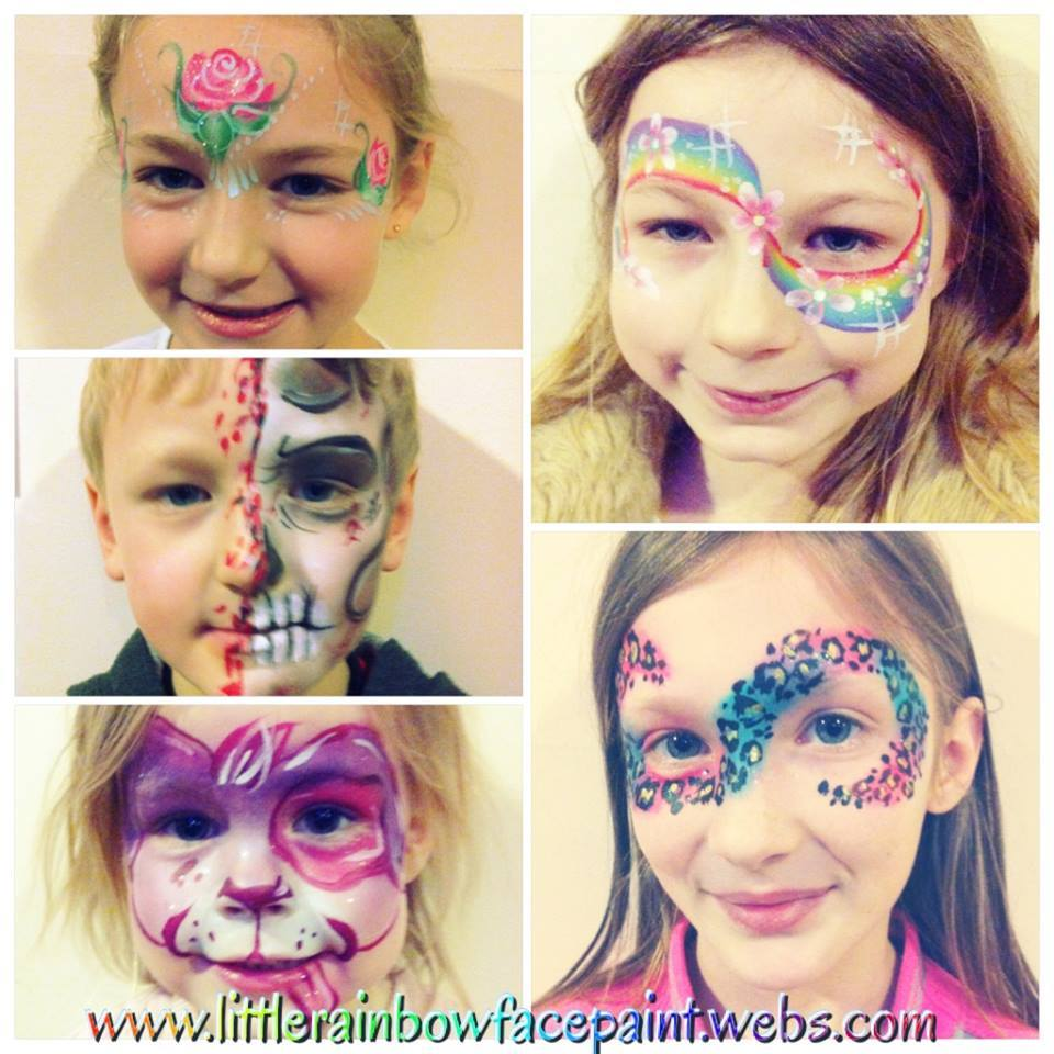 Facepainting-children-cornwall