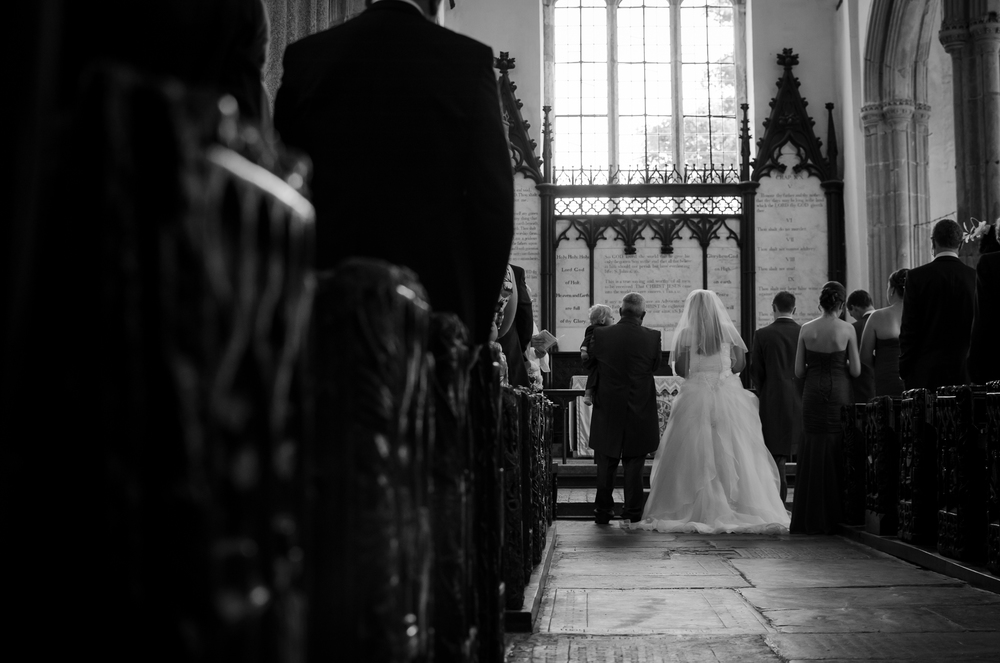 A look down the aisle
