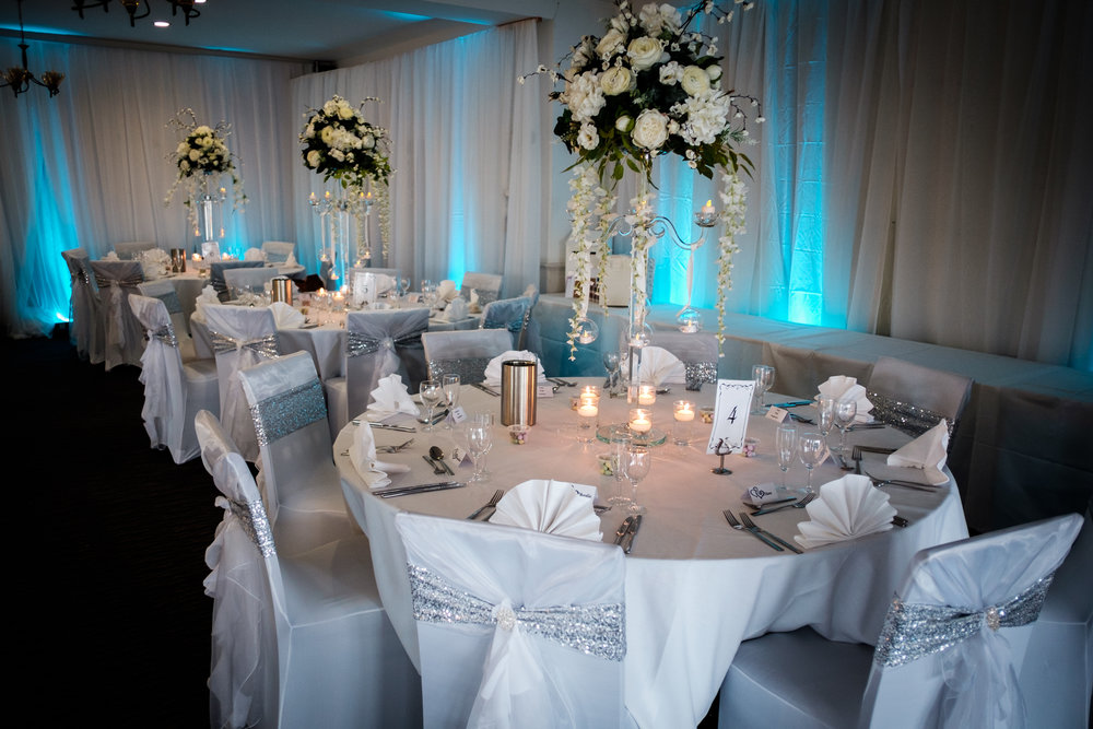 wedding dressed tables