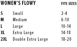 muscle tanks + long sleeve tees + flowy racerback tank