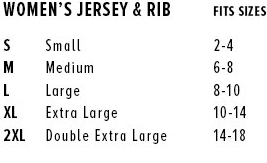 wide neck sweat top + tee shirt + racerback tank