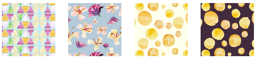 Use any of my Alstroemeria collection on fabric, wallpaper, or gift wrap when you order through Spoonflower.