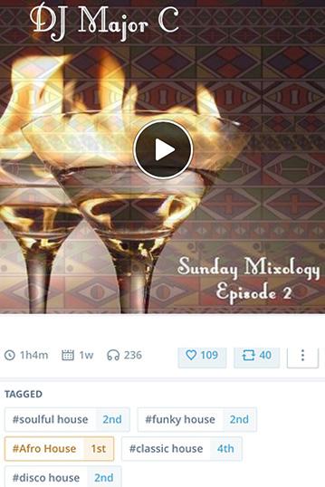 DJ Major C Sunday Mixology Episode 2