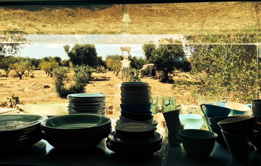 Mijn keukenkast en -raam met zicht!