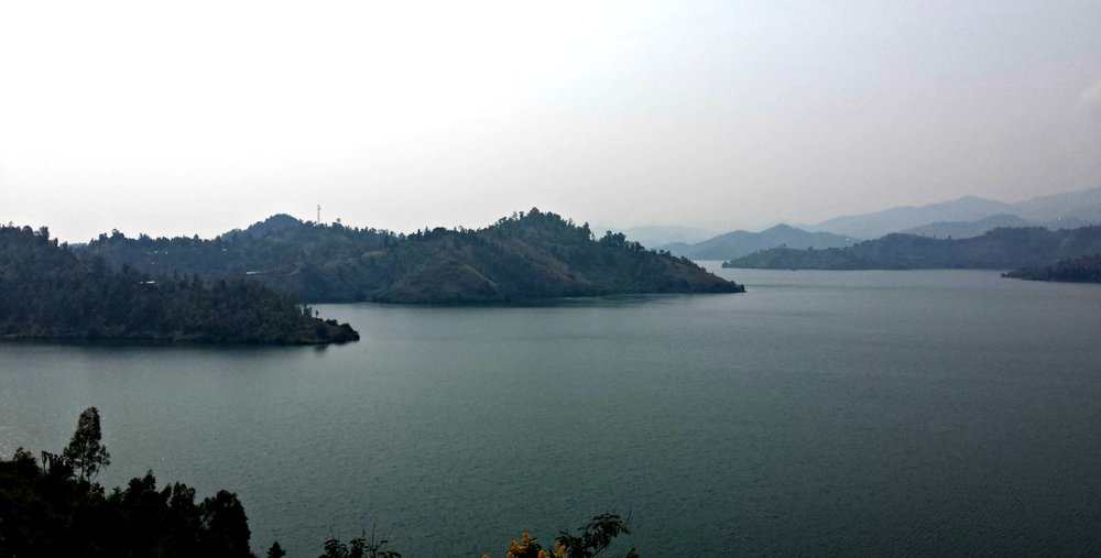 Genieten aan het Kivu meer