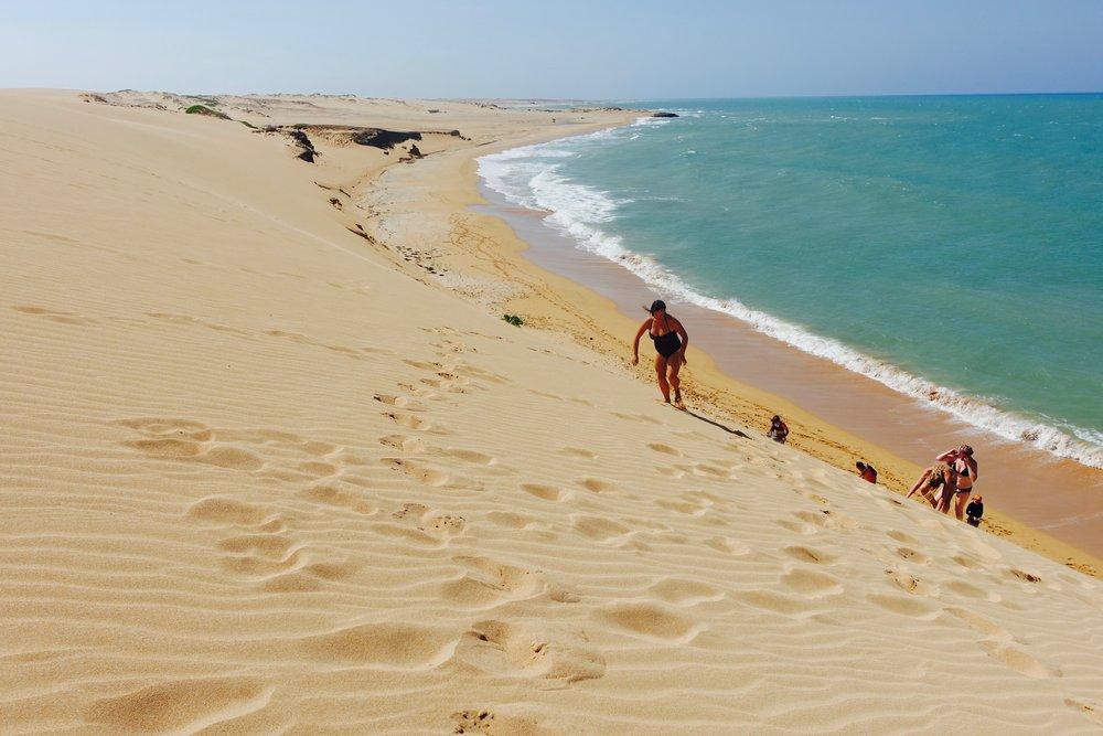Punta Gallinas: het paradijs!