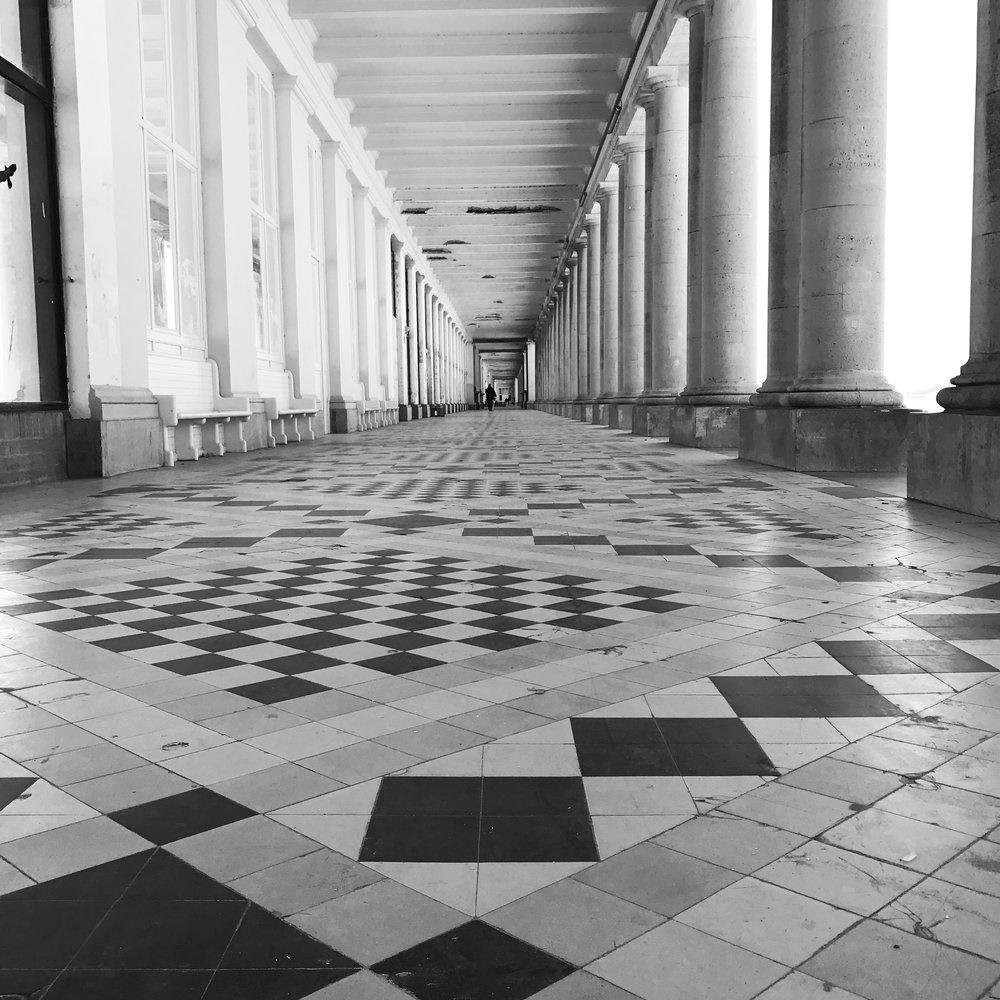 koninklijke galerijen Oostende