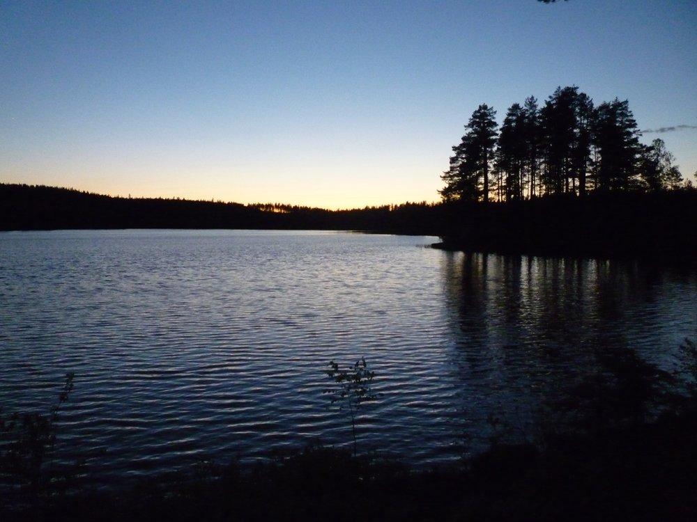 zonsondergang meer värmland.JPG