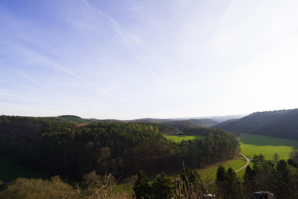 Dit is wat ze noemen... - ... een panoramisch uitzicht!
