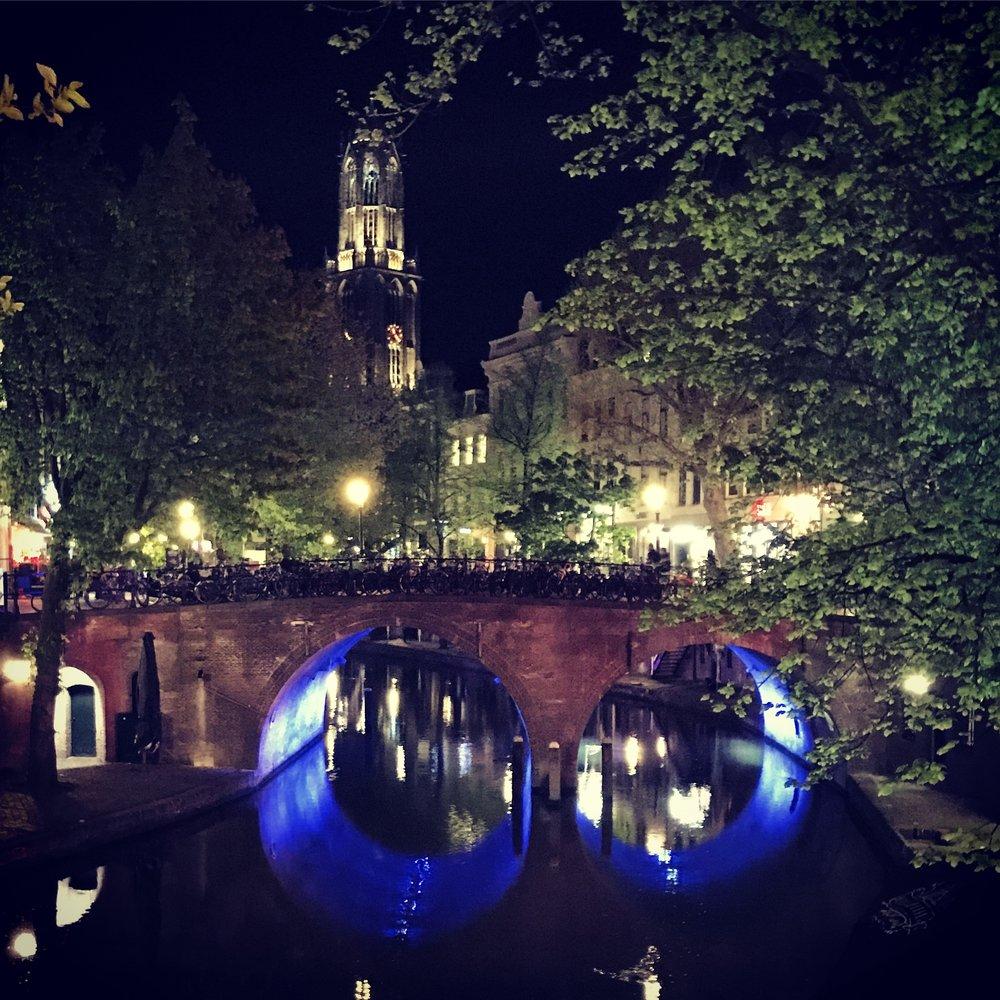 Stappen in Utrecht.