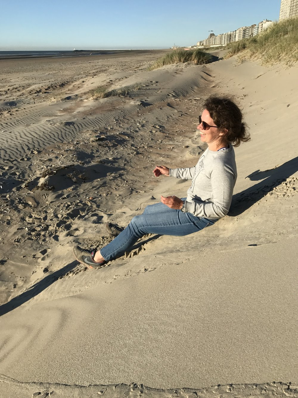 24 uur ontspannen aan het strand met de kinderen in Nieuwpoort.