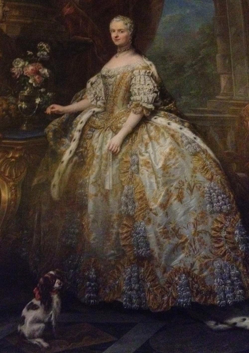 Empress at Versailles