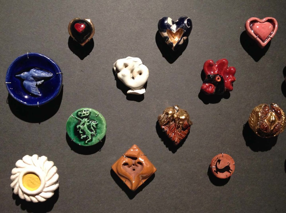 Antique Ceramic buttons