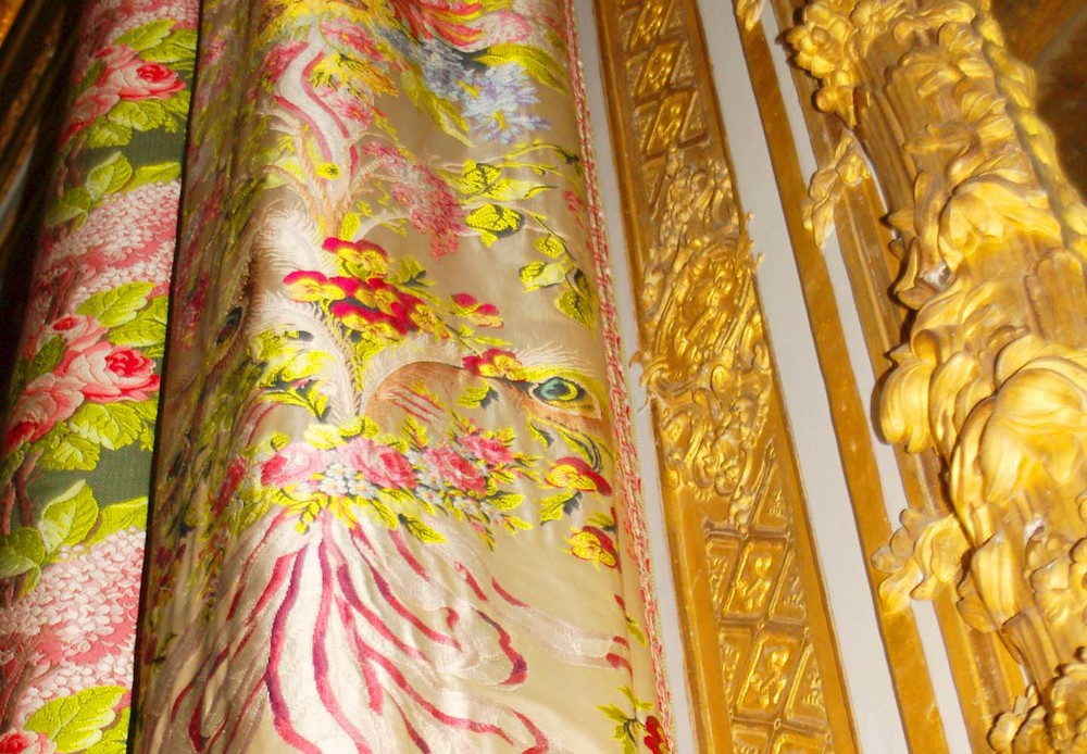 Golden tapestry at Versailles