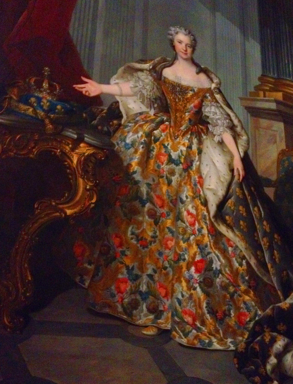 Portrait at Versailles