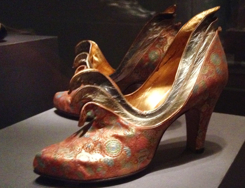 Silk Brocade Shoes