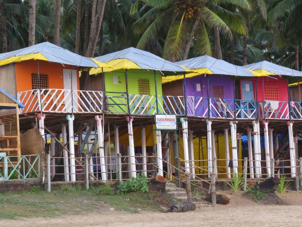 Tourist condos, Palolem, Goa