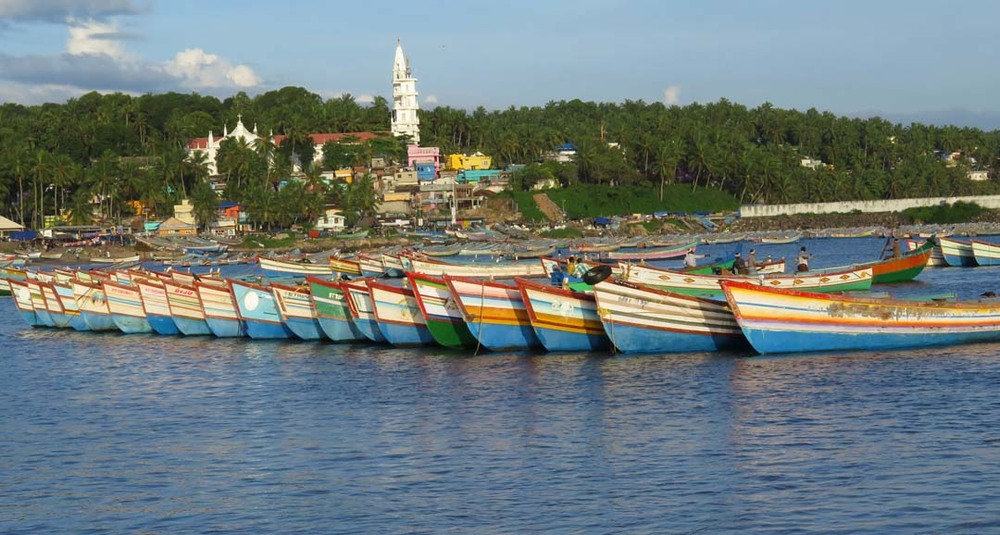 Vizhinjam Harbor, Kerala