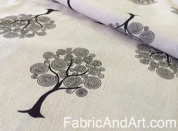 Tree of life Indian fabric