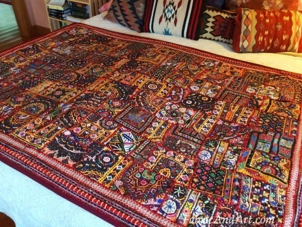 Indian tribal quilt