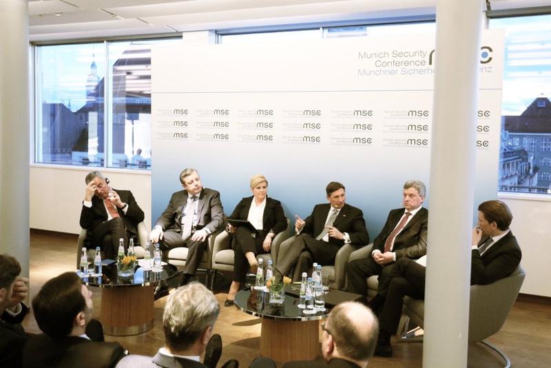 Außenminister Sebastian Kurz bei der Münchner Sicherheitskonferenz. 12. Februar 2016. Bild: BMEIA
