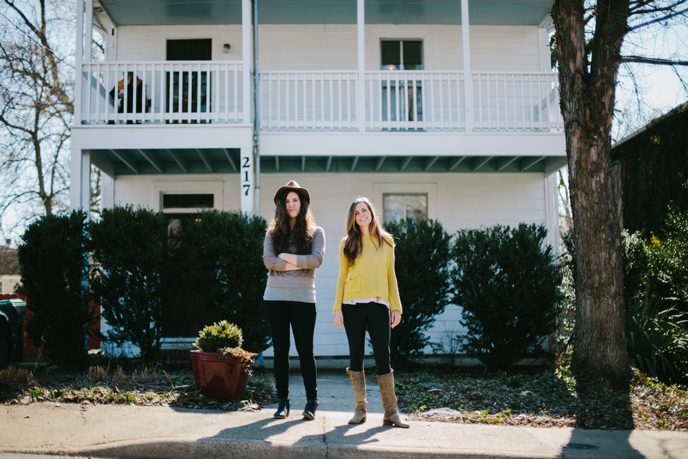 Lauren Stonestreet (left) and Lexi Hutchins (right) Curators of The Farm House