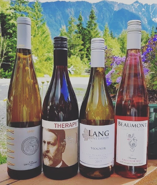 NEW WINE HAS ARRIVED!!!! We've added a few different varietals for the summer.......Pinot Noir, Viognier, Pinot Noir Rosé @beaumontwinery and bye bye to Sumac Ridge Gewürztraminer, we're on to Kalala!! Hope you enjoy!! #changeitup #summerishere #wine&food #delicious #bcwines #supportlocal