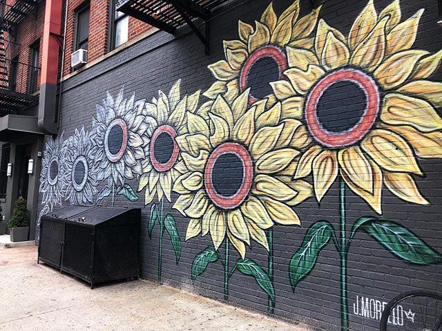 🌻🌻🌻 * * * #nyc #streetart #seenwhilewalking #getoutside #todayinnyc #artiseverywhere