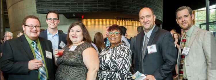 """Full Visibility team at  Washington Business Journal's  """"Best Places to Work"""" Awards Ceremony - June 22, 2017."""