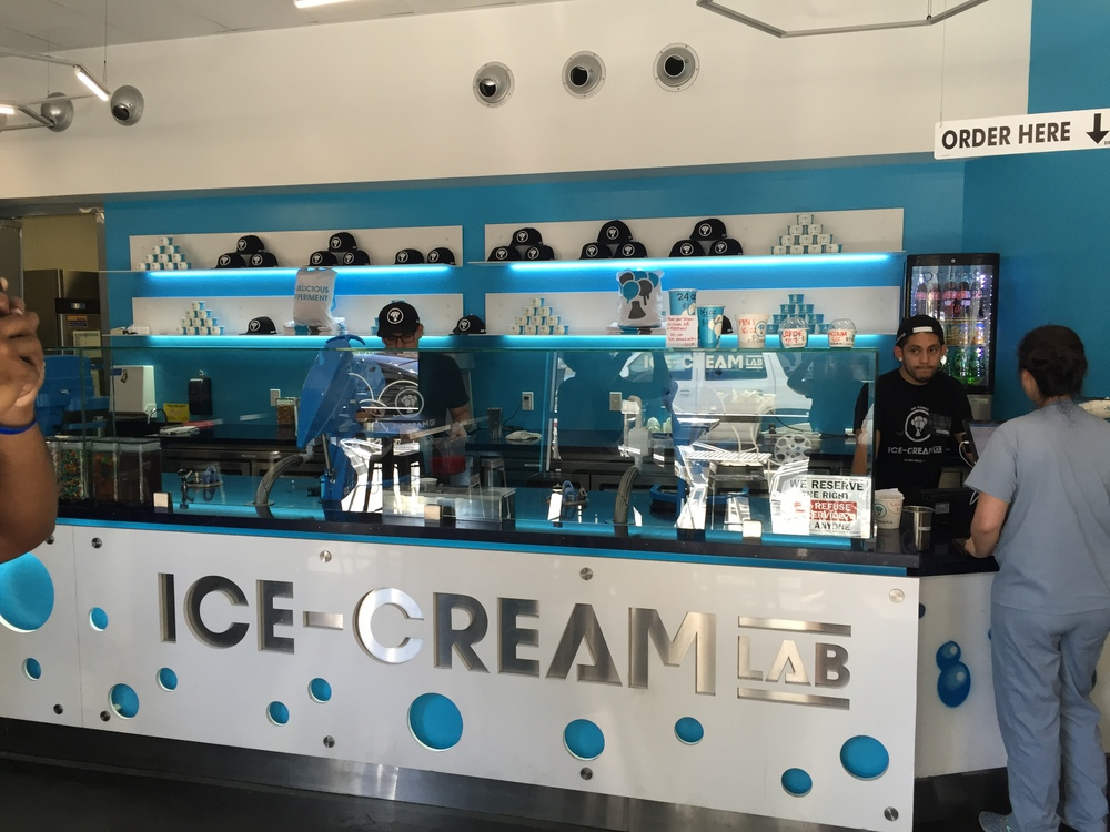 Ice-cream lab, little tokyo downtown, los angeles