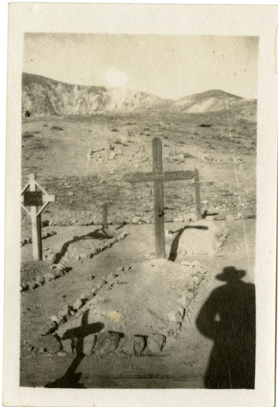 Graves in the desert