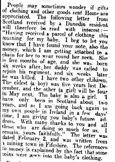 Manawatu Standard, Volume XLI, Issue 10047, 17 April 1915, Page 4